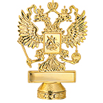 Фигуры и держатели эмблем с российской и региональной символикой