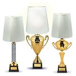 Кубки - настольные лампы