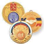 Медали с российской и региональной символикой